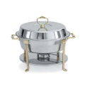 Rental store for CHAFER, 6 QT ROUND SS BRASS in New Jersey / Philadelphia PA