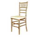 Rental store for CHAIR, GOLD CHIAVARI in New Jersey / Philadelphia PA