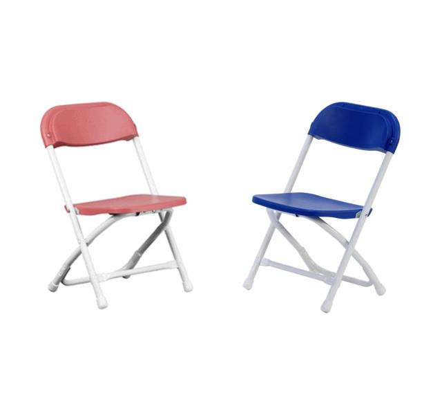 CHAIR KID RED BLUE FOLDING 11 INCH H Rentals New Jersey Philadelphia PA Wh