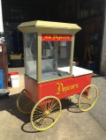 Rental store for POPCORN CART 12 OZ.  4 WHEEL in New Jersey / Philadelphia PA