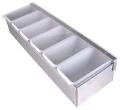 Rental store for BAR CADDY, 6 COMPARTMENT TABLETOP in New Jersey / Philadelphia PA