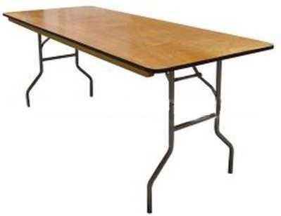 Table Work 36 Inch H X 8 Foot X 30 Inch Rentals New Jersey