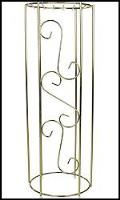 Rental store for COLUMN, FLOWER BRASS SMALL 3 in New Jersey / Philadelphia PA