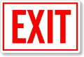 Rental store for FIRE EXIT SIGN in New Jersey / Philadelphia PA