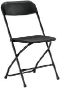 Rental store for CHAIR, BLACK in New Jersey / Philadelphia PA