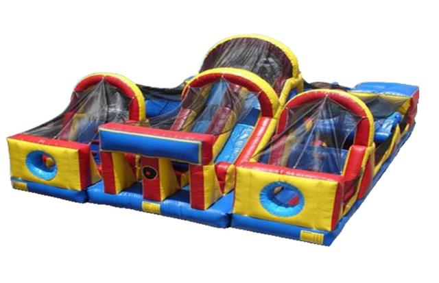 Where to rent INFLATABLE, OBSTACLE COURSE - 3PC. in Atlantic City, Philadelphia, South Plainfield, Edison NJ, Woodbridge NJ, Sicklerville NJ