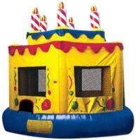 Where to rent INFLATABLE, 15  ROUND BIRTHDAY CAKE in Atlantic City, Philadelphia, South Plainfield, Edison NJ, Woodbridge NJ, Sicklerville NJ