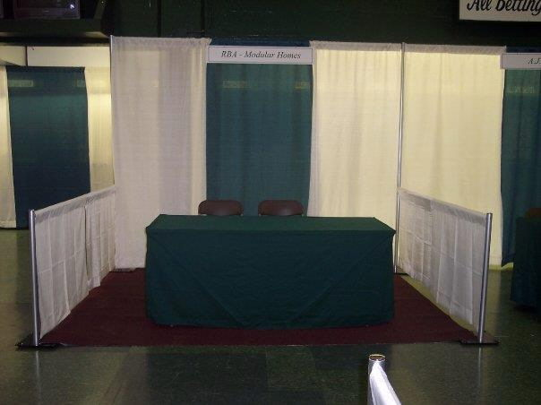 CARPET BOOTH 8 FOOT X 10 FOOT BURGUNDY Rentals New Jersey