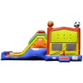 Rental store for INFLATABLE, SPORTS JUMP SLIDE COMBO in New Jersey / Philadelphia PA