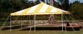 Rental store for 15 X15  YELLOW WHITE DIY TENT in New Jersey / Philadelphia PA