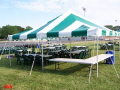 Rental store for 20 X20  GREEN WHITE DIY TENT in New Jersey / Philadelphia PA