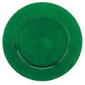Rental store for CHARGER PLATE, EMERALD PLASTIC 13 in New Jersey / Philadelphia PA