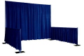 Rental store for PIPE   DRAPE BOOTH 8  H, 3  H SIDES in New Jersey / Philadelphia PA
