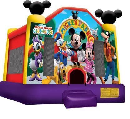 Where to rent INFLATABLE, 15  X 15  MICKEY MOUSE in Atlantic City, Philadelphia, South Plainfield, Edison NJ, Woodbridge NJ, Sicklerville NJ