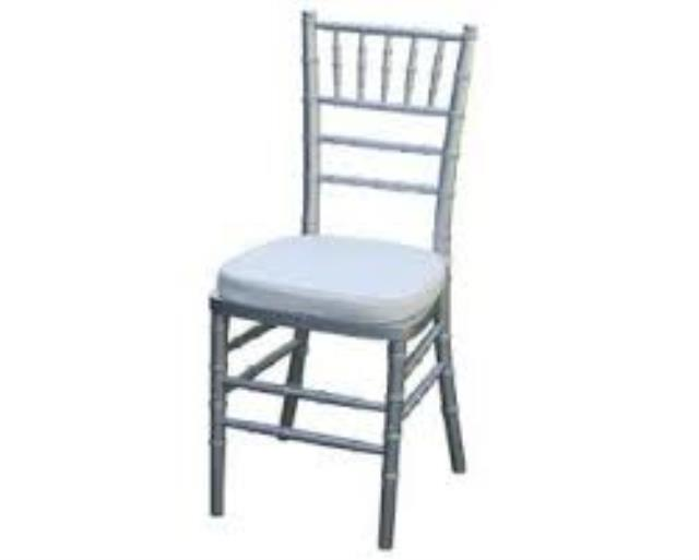 Where to rent CHAIR, SILVER CHIAVARI in Atlantic City, Philadelphia, South Plainfield, Edison NJ, Woodbridge NJ, Sicklerville NJ
