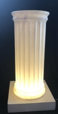 Rental store for COLUMN, LIGHT UP FAUX MARBLE 3 in New Jersey / Philadelphia PA