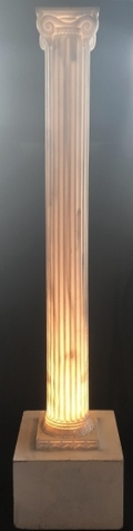 Rental store for COLUMN, LIGHT UP FAUX MARBLE 7 in New Jersey / Philadelphia PA